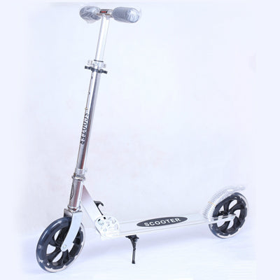 Image of Foldable Kick Scooters with HandBrake - JustPeri - Drive Your Destiny