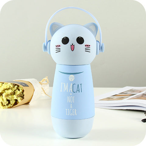 Image of Cute Trending Animal Thermos Flask for Kids - Back To School - JustPeri - Drive Your Destiny