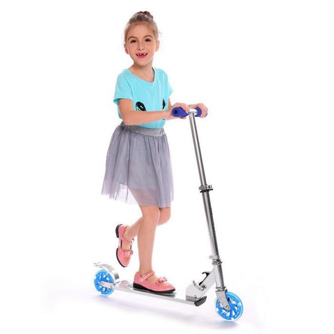 Image of Aluminum Height Adjustable Kick Scooter For Kids - JustPeri - Drive Your Destiny