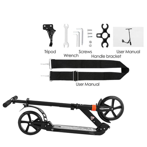 Image of Easy to Carry Dual Suspension Adult Scooter - JustPeri - Drive Your Destiny