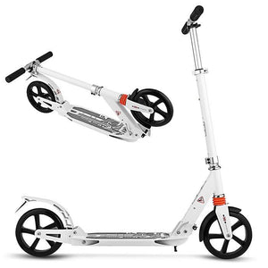 Easy to Carry Dual Suspension Adult Scooter