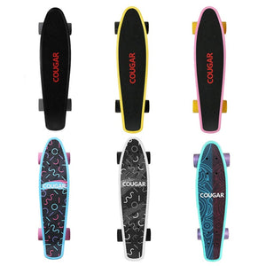 Cool Arch Designed Four Wheel Plastic Longboard - JustPeri - Drive Your Destiny
