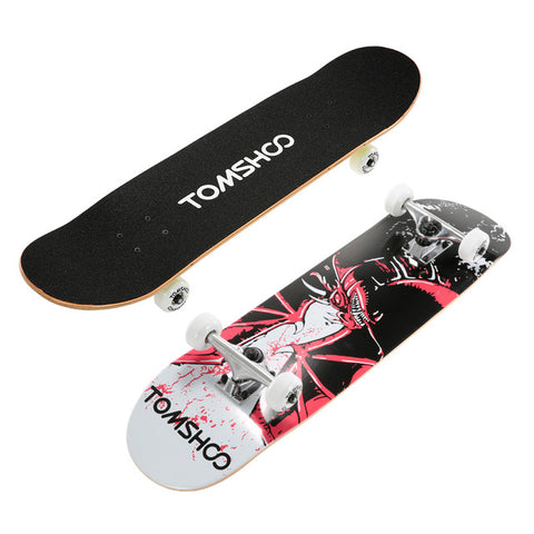 Image of Freestyle Graphic Printed 31 inch Long Skateboard - JustPeri - Drive Your Destiny