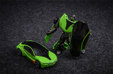 Image of Transformer Car Diecast Metal Robot Toy Car - JustPeri - Drive Your Destiny