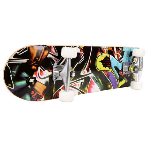 Image of Elifine Pro Skull Pattern Skateboard for extreme sports - JustPeri - Drive Your Destiny