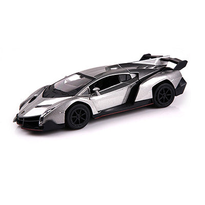 Image of Concept Car - Lamborghini Multi Color Die-cast metal Alloy car - Musical Flashing Pull Back Toy - JustPeri - Drive Your Destiny