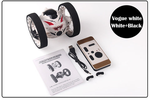 Image of 2.4GHz RC Bounce Car With Jumping LED Light and Music - JustPeri - Drive Your Destiny