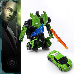Transformer Car Diecast Metal Robot Toy Car