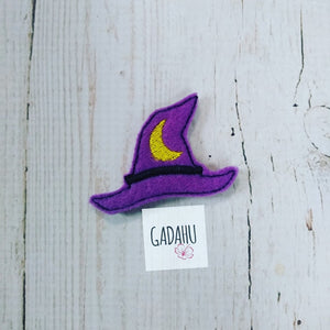 Witch Hat feltie ITH Embroidery design file