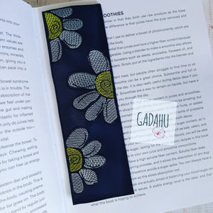 Flowers bookmark ITH Embroidery design