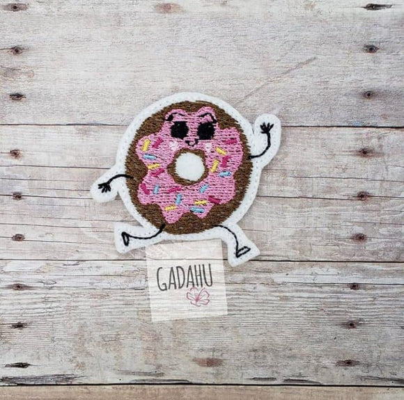 Donut feltie ITH Embroidery design file