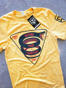 Defend Your Territory Tee - Yellow