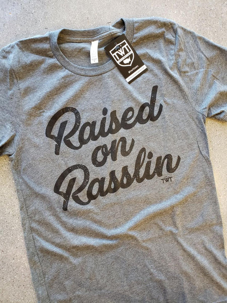Raised on Rasslin' Retro Tee