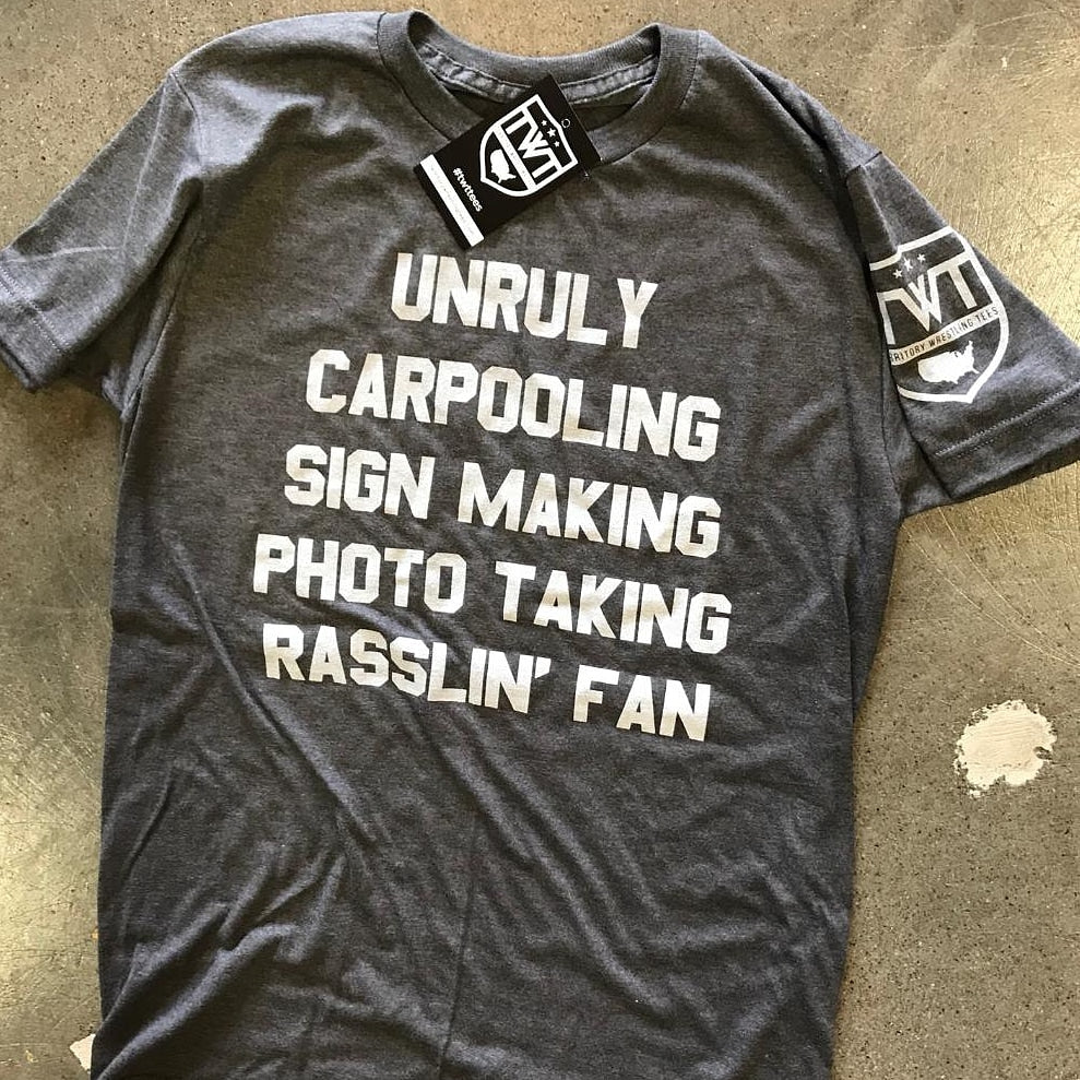 The Rasslin' Fan Tee