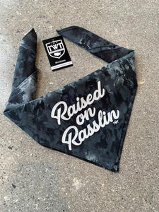 Raised on Rasslin Retro Bandana