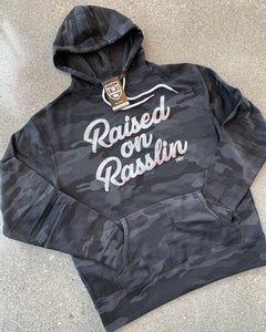Raised on Rasslin Retro Hoodie