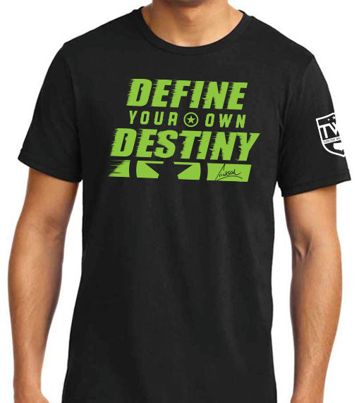 Crimson - Define Your Destiny Tee