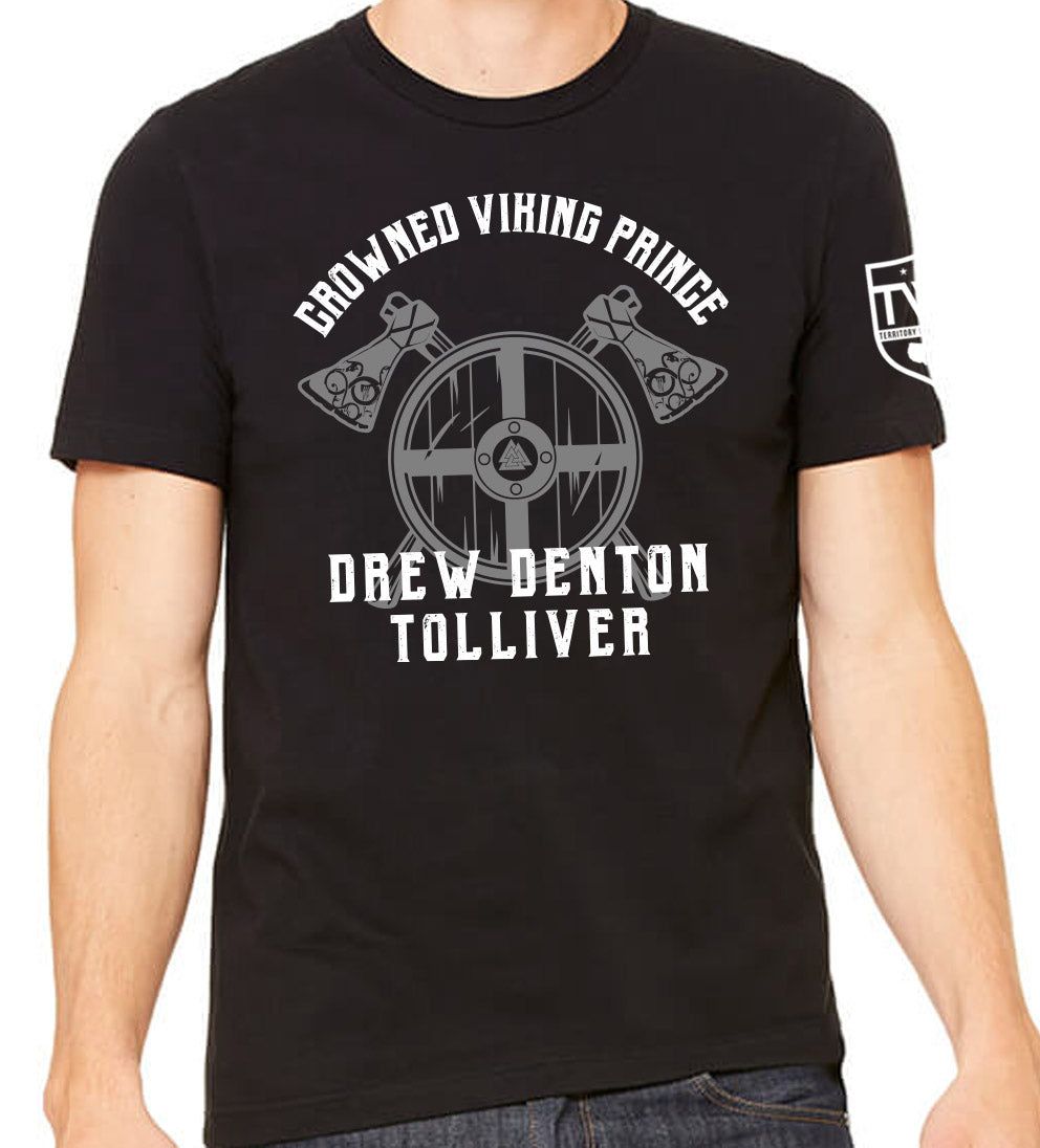 Drew D Tolliver - Viking Prince Tee