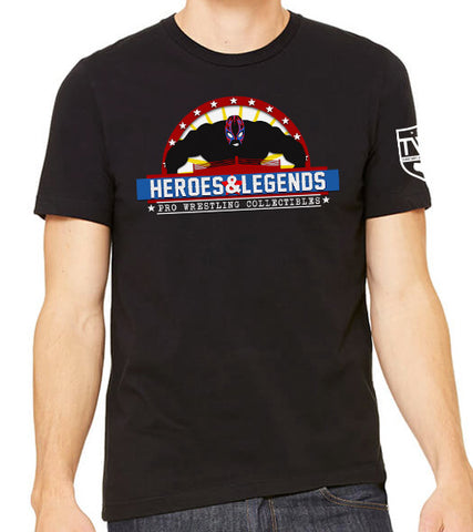 Heroes & Legends Collectibles Logo Tee