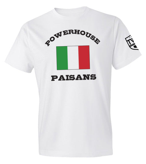 Powerhouse Paisans Tee