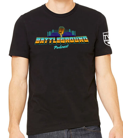 Battleground Podcast Logo Tee
