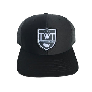 TWT Trucker Hat - Black