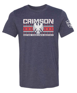 Crimson - Define Your Destiny 2.0 Tee