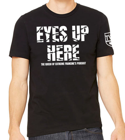 Eyes Up Here!! The Queen of Extreme Francine Tee