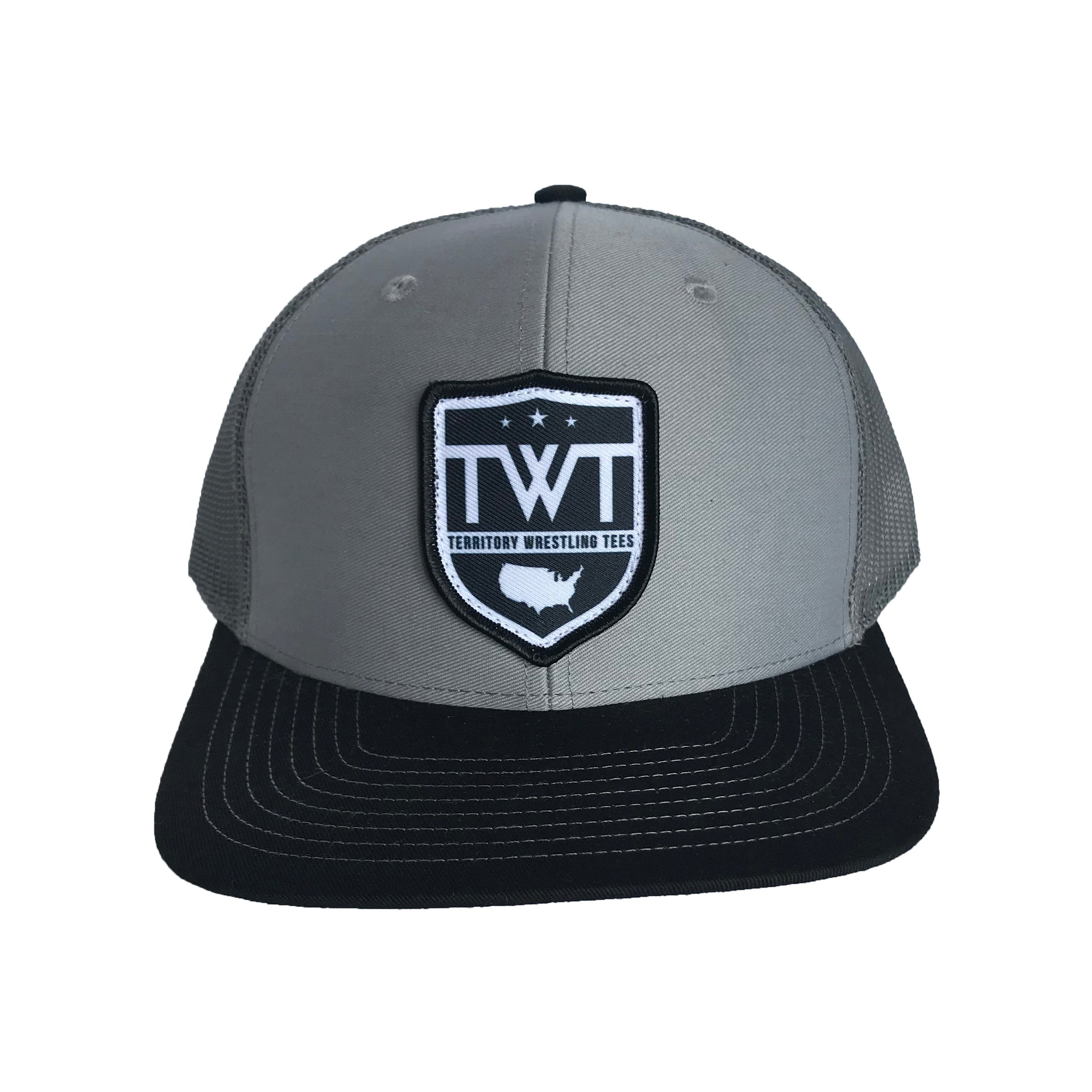TWT Trucker Hat - Grey/Charcoal/Black