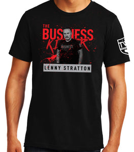 Lenny Stratton - Face of a Business Killer Tee