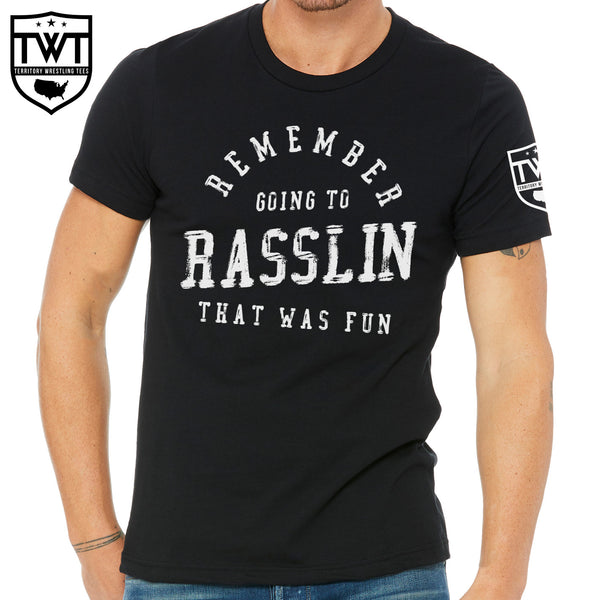 Going to Rasslin Tee