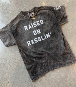 Raised on Rasslin' - Vintage Black (Limited Edition)