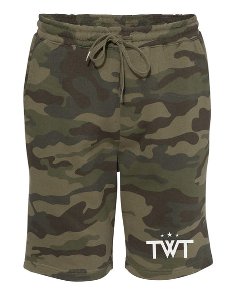 TWT Fleece Shorts - Camo
