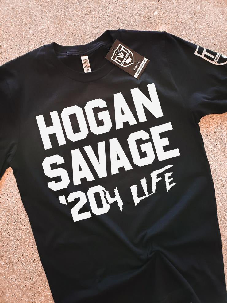 Hogan Savage '20 4 Life Tee