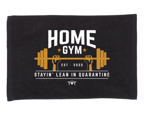 Home Gym Towel - Black