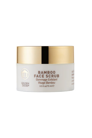 Bamboo Face Scrub - travel