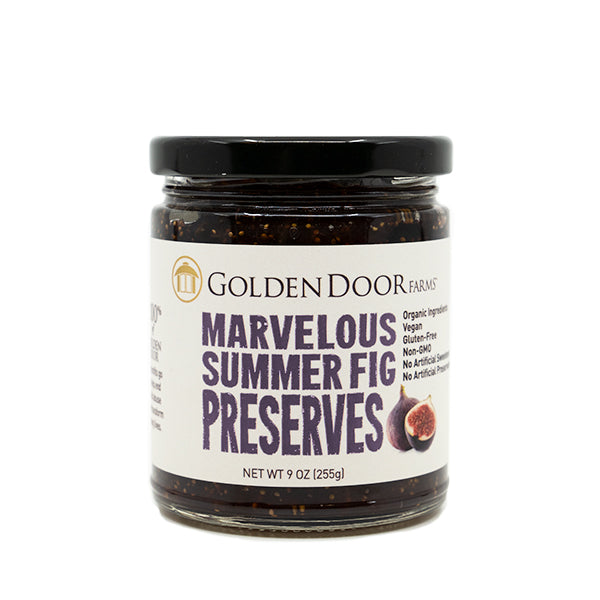 Marvelous Summer Fig Preserves