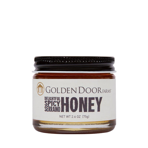 Delightful Spicy Serrano Honey
