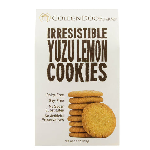 Irresistible Yuzu Lemon Cookies