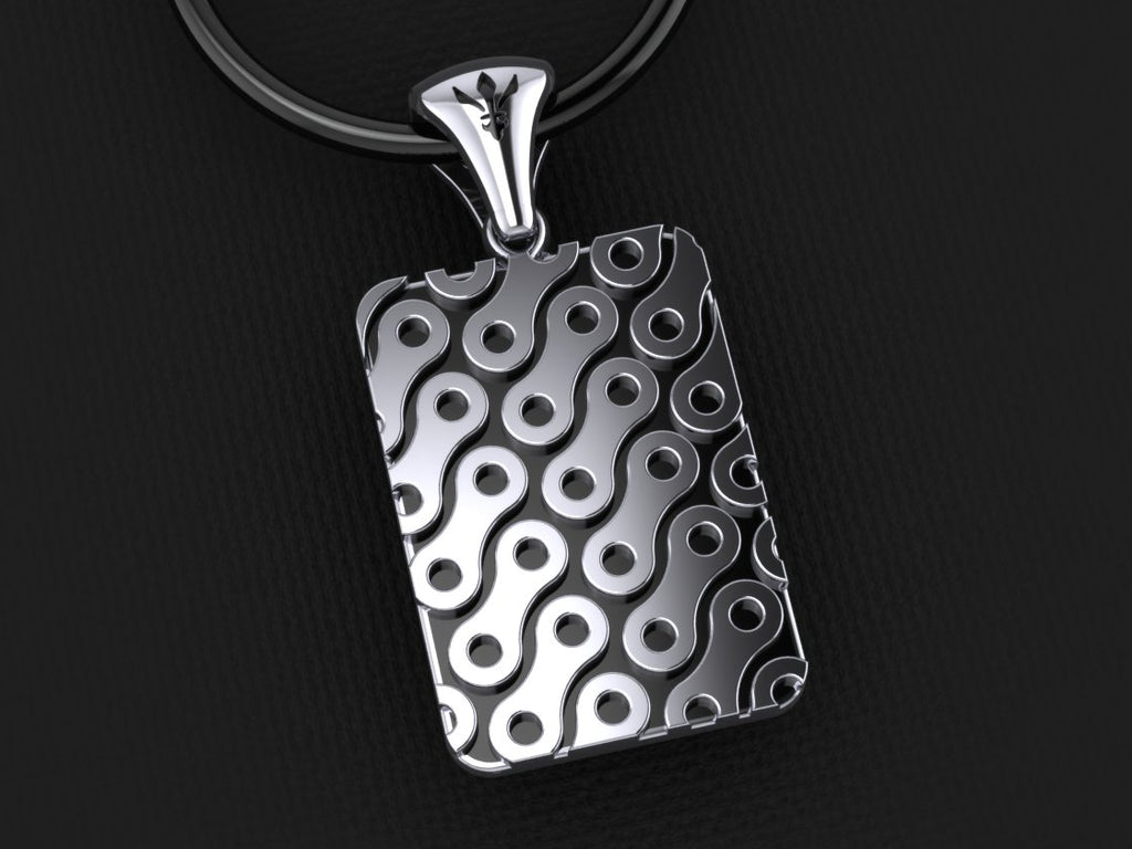 Chain Link Pendant – Large