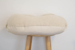 Woven Cotton Nursing Pillow Cover