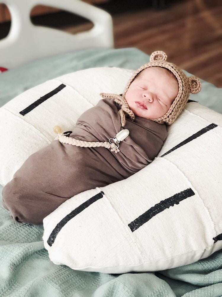 Mud Cloth Nursing Pillow Cover