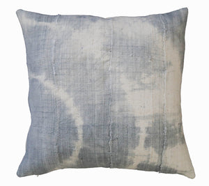 Mud Cloth Pillow Cover Blue
