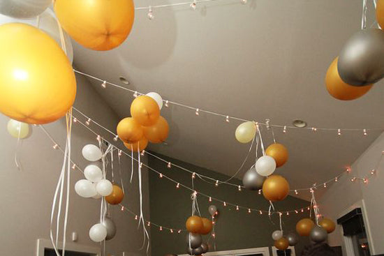 Hanging balloons, Lively & Co