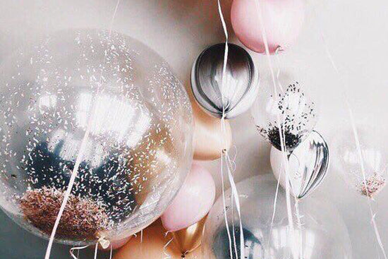 Metallic Helium Balloons, Lively & Co