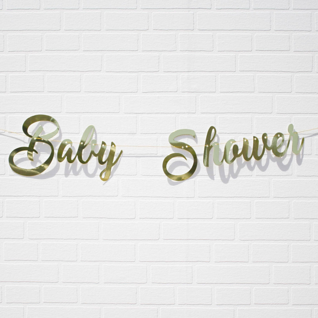 Baby Shower Banner NZ