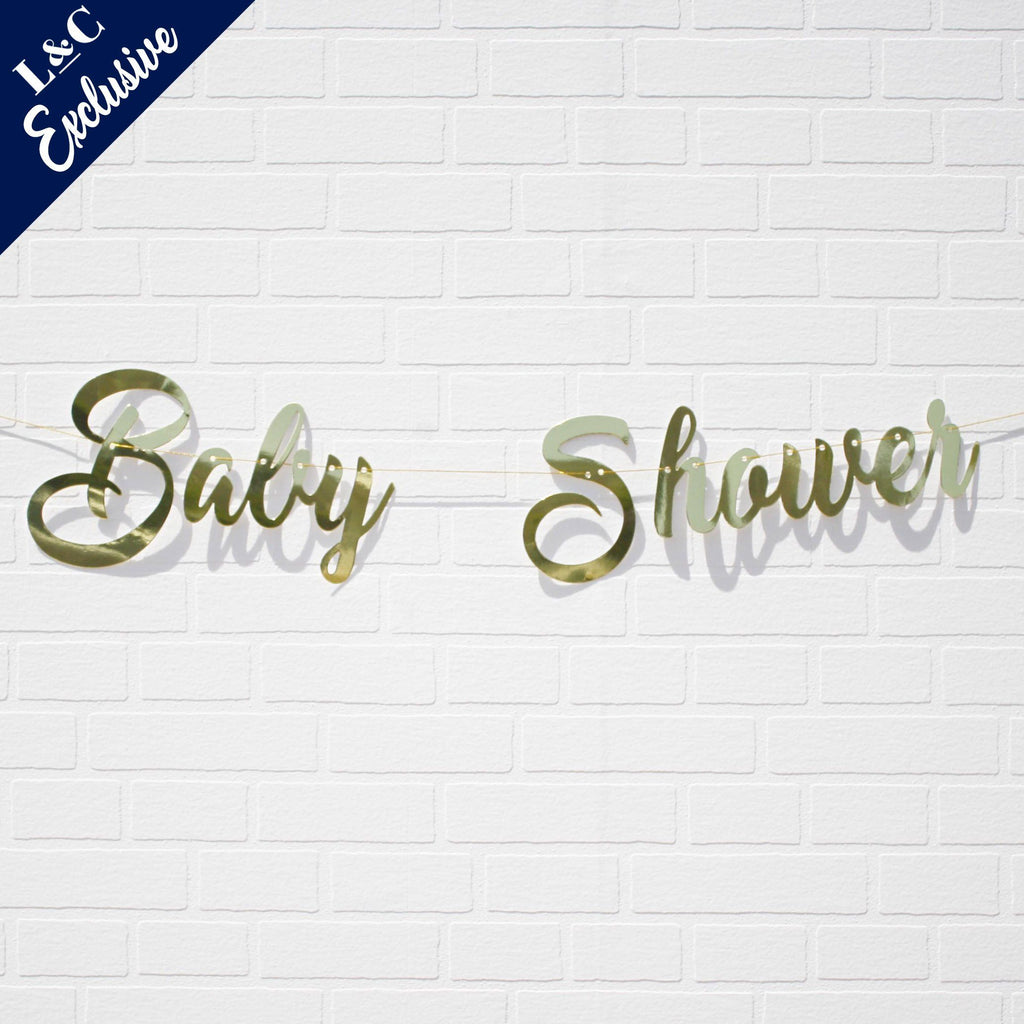 Baby Shower Banner by Lively & Co