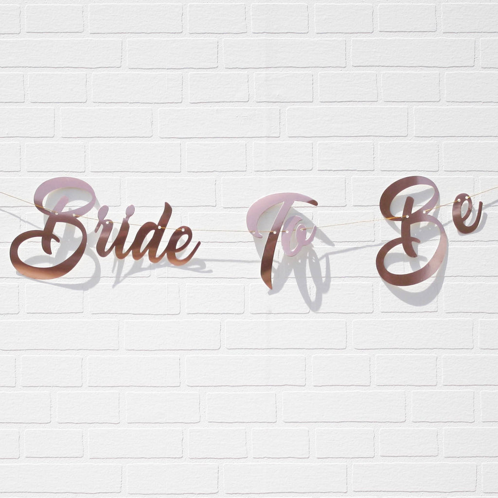 Bride To Be Banner for Hens party NZ
