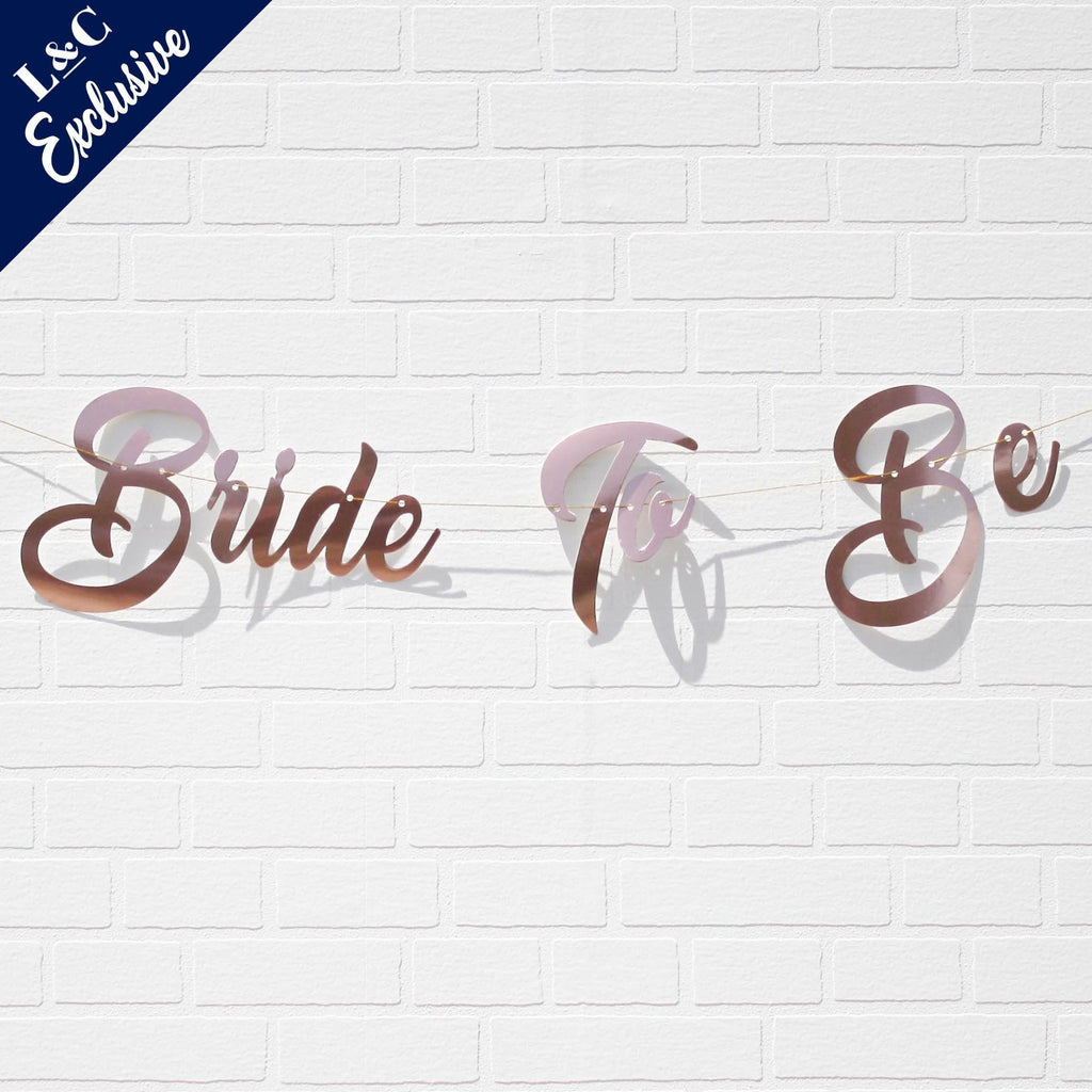 Lively & Co Exclusive Bride To Be Banner