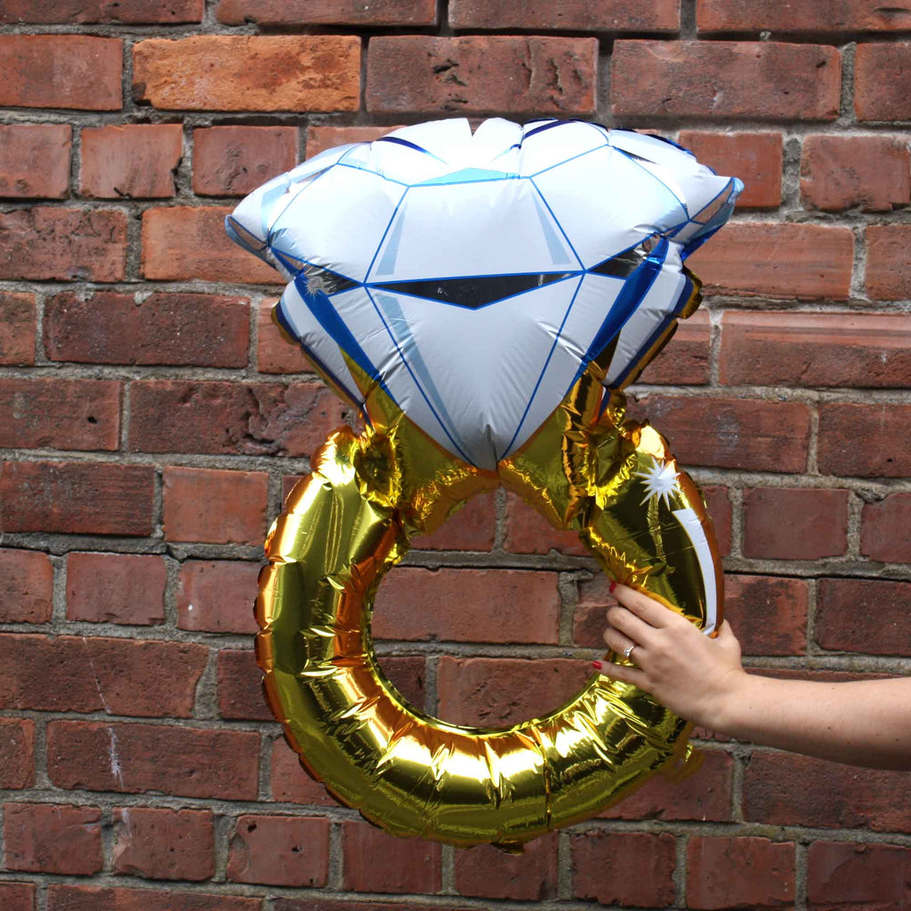 big ring blow up balloon for engagement proposals and parties